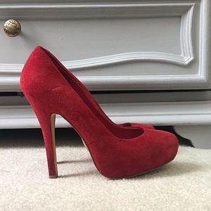 Steve Madden red heels